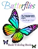 Butterflies: Coloring Book (Coloring Books for Young Colorist's) (Volume 2)