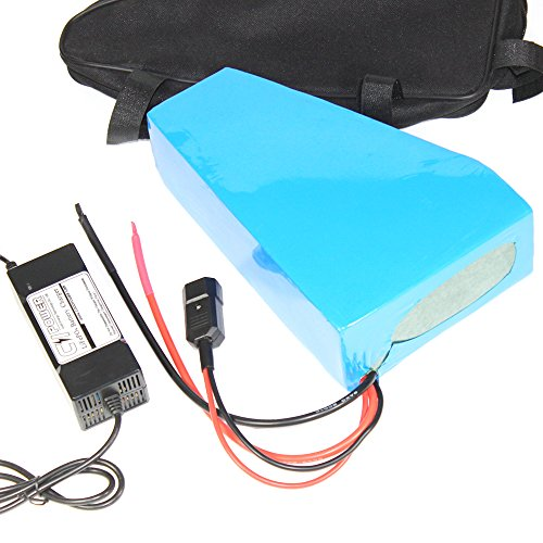 51.8V 20AH Cycling Bicycle Bike Triangle Battery with Frame Bag 52V 1000W Lithium ion E-bike Conversion Kit