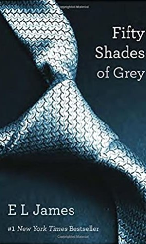 Fifty Shades Grey Book Cover