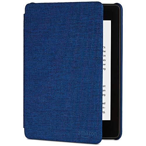 All-new Kindle Paperwhite Water-Safe Fabric Cover (10th Generation-2018), Marine Blue