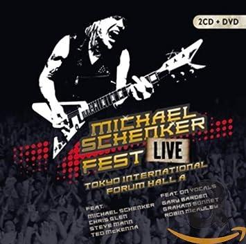 Live Tokyo International Forum Hall a: Michael Schenker, Michael ...