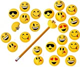 Emoji Pencil Sharpeners - 24 pack - Play Kreative TM