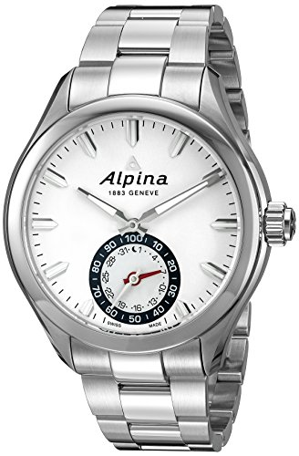 Alpina horological smartwatch with connected Activity and sleep tracking functionalities For ios and android. Powered by motionx. Swiss made Swiss-quartz Movement
