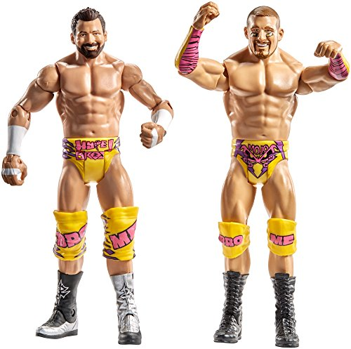 WWE Superstars Mojo Rawley & Zack Ryder Action Figure (2 Pack)
