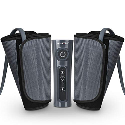 CINCOM Leg Massager for Circulation Air Compression Calf Wraps with 2 Modes 3 Intensities and...