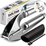 ORBLUE Garlic Press, Stainless...