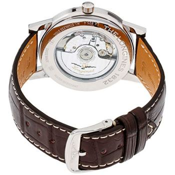 Longines 1832 Beige Dial Leather Strap Men's Watch L48254922