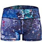 Epic MMA Gear Yoga Stretch Booty Shorts (M/8, Fantasy Blue)