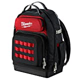 Milwaukee Ultimate Jobsite Backpack,Constructed of 1680D Ballistic Materials,with 48 Total Pockets,...