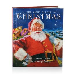 The Night Before Christmas Hallmark Recordable Storybook Image from Amazon