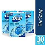 Dial Antibacterial Bar Soap, Spring Water, 30 Count