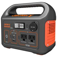 Jackery Portable Power Station Explorer 300, 293Wh Backup Lithium Battery, 110V/300W Pure Sine Wave AC Outlet, Solar…