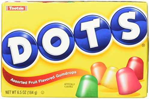 Dots Assorted Fruit Gumdrops Candy, 6.5 oz