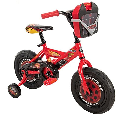 Wonders Shop USA My Lightning Mc-Queen Pixar Cars 12 inch Bike Bicycle with Training Wheels