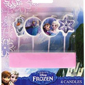 4 Candeline Per Torta Frozen Il Regno Di Ghiaccio