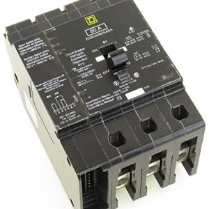 EDB34080AABA SQD 3P 80A 480V AC CIRCUIT BREAKER W/ BELL ALARM AND AUX. SWITCH