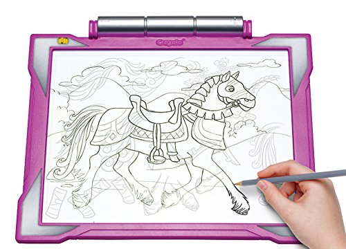 Crayola Light-up Tracing Pad – Pink, Coloring Board for Kids ...