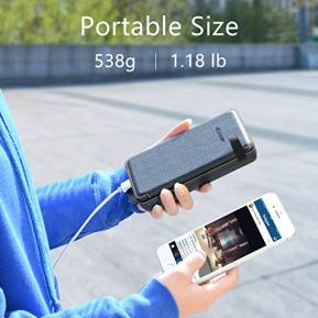 Solar-Charger-25000mAh-ADDTOP-Waterproof-Power-Bank-with-4-Solar-Panels-Portable-Battery-Pack-for-iPhone-iPad-Samsung-and-Smartphone