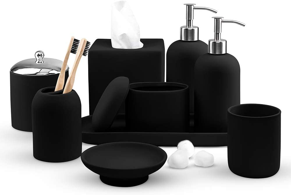 Amazon.com: Real Simple- Matching Bathroom Accessories ...
