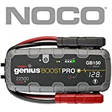 NOCO Boost Pro GB150 4000 Amp 12V UltraSafe Lithium Jump Starter for up to 10L Gasoline and Diesel Engines