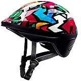 OutdoorMaster Toddler Bike Helmet - Multi-sport Adjustable Helmet for Children (Age 3-5) , 14 Vents Safety & Fun Print Design for Kids Skating Cycling Scooter - Graffiti