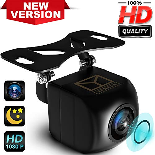 Backup Camera Night Vision - HD Car Rear View Parking Camera - Best 170° Wide View Angel - Waterproof Reverse Auto Back Up Car Backing Camera - High Definition - Fits All Vehicles by Yanees