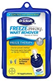 Dr. Scholl's FreezeAway Wart Remover, 12 Applications // Doctor-Proven Method, for Common and Plantar Warts
