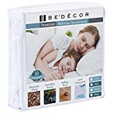 Bedecor Zippered Encasement Six Sides Waterproof, Dust Mite Proof, Bed Bug Proof Breathable Mattress Protector - King Size