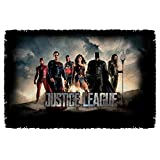 Time For Heroes -- Justice League Movie -- Woven Throw Blanket Tapestry