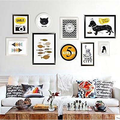 Pareti Decorative 9 Pc Set Collage Photo Frame Set