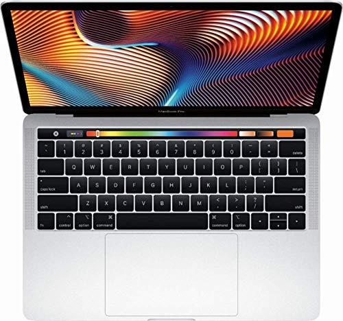 "Apple 13"" MacBook Pro, Retina, Touch Bar, 3.1GHz Intel Core i5 Dual Core, 8GB RAM, 256GB SSD, Silver, MPXX2LL/A"