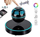 DENT Levitating Speaker, Floating Speaker with Bluetooth 4.0, 360 Degree Rotation, Touch Control Button and Colorful Led Flashing Show Magnetic [NEWEST MODEL]