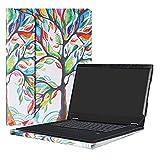 Alapmk Protective Case Cover For 15.6' Lenovo Flex 5 15 1570 Series Laptop(Warning:Not fit Flex 5 14/Flex 6/Flex 4/Flex 3/Flex 2/Flex Series),Love Tree