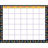 Trend Enterprises Perfectly Paisley Wipe-Off Calendar - Monthly (T-27012)