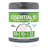 Designer Protein Essential 10, Madagascar Vanilla, 1.32 Pound, Plant Based Meal Replacement Protein Powder