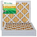 AFB Gold MERV 11 14x14x1 Pleated AC Furnace Air Filter. Pack of 4 Filters. 100% produced in the USA.