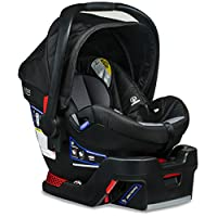The B-Safe 35 Infant Car Seat is engineered with Britax's top safety technologies. The rear facing seat features a layer of side impact protection and the patented SafeCell Impact Protection System includes a steel frame and energy-absorbing base. Th...