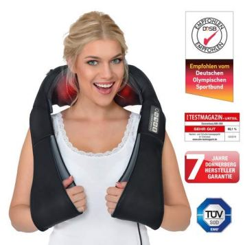 Donnerberg NM089 neck massager in the test