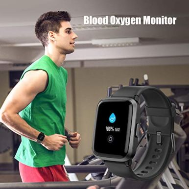 AIKELA-Smart-Watch-Fitness-Tracker-for-Android-Phones-and-Compatible-iPhone-Smartwatch-with-Blood-Oxygen-Meter-Blood-Pressure-Monitor-5ATM-Swimming-Waterproof-Fitness-Watch-for-Women-and-Men