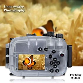 Sea-Frogs-130ft40m-Underwater-Camera-Housing-Waterproof-Diving-Case-for-Sony-A6000-with-16-50mm-Lens-Housing-Red-Filter