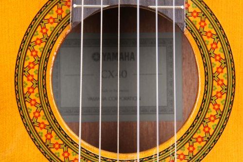 Yamaha-CX40-Full-Size-Electro-Nylon-Classical-Guitar-Natural