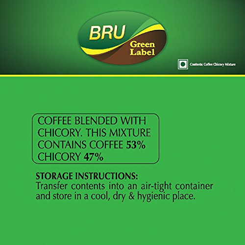 51Sv8UsPKnL - Bru Green Label Filter Coffee - Ground & Roast, 500 g