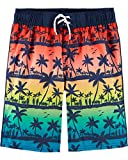 Osh Kosh Little Boys' Swim Trunks, Palm Trees, 6