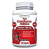 Pure Caralluma Fimbriata Extract 1200 mg Serving (120 Veggie Capsules) | Maximum Strength Natural Weight Loss Diet Pills | Appetite Suppressant & Fat Burner Support Supplement - 60 Day Supply