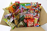 25 Japanese Candy and Snack Okashi Set with original Japanese Candy Ninja sticker