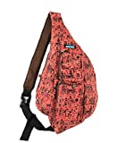 Sling Backpack - Canvas Sling Bag by MERU - Small Sling Backpack Crossbody Backpack for Women and Men. Durable EDC Bag Packable Backpack Sling Bags for Women and Men - Aztec