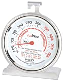 Winco TMT-OV3 B001B4KUPY 3-Inch Dial Oven Thermometer with Hook and Panel Base, 1
