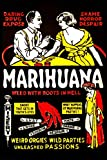Marihuana - Weed with Roots in Hell Poster (24x36) PSA010935
