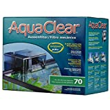 AquaClear 70 Power Filter - 110 V, UL Listed (Includes AquaClear 70 Carbon, AquaClear 70 Foam & AquaClear 70 BioMax