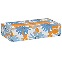 Kleenex Professional Facial Tissue for Business (03076), Flat Tissue Boxes, 12 Boxes/Convenience Case, 125 Tissues/Box